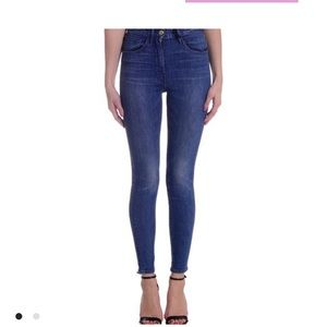 NWOT 3x1 Mid rise crop Stretch Skinny Jeans